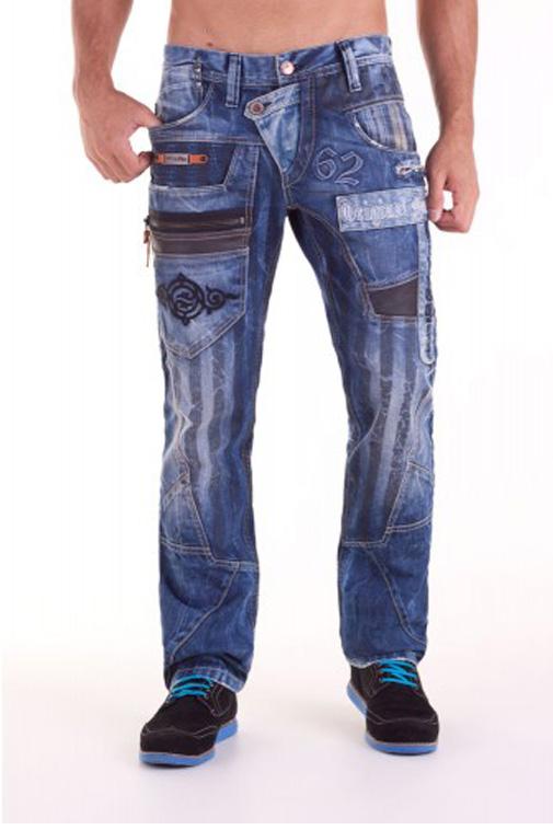 cipo baxx herren jeans hose 1115 denim blau brandneu w29 30 31 32 33 34 36 38. Black Bedroom Furniture Sets. Home Design Ideas