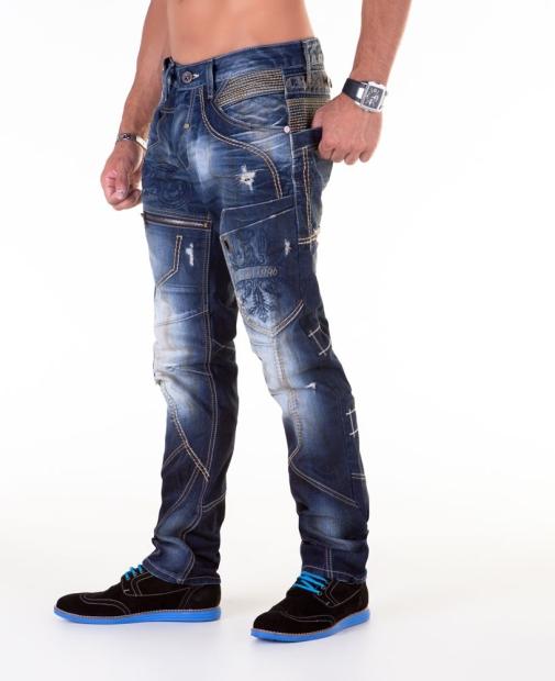 cipo baxx herren jeans hose 141114 blau brandneu w29 30 31 32 33 34 36 38 ebay. Black Bedroom Furniture Sets. Home Design Ideas