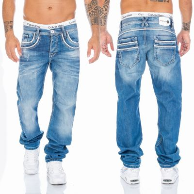 Cipo & Baxx Jeans C-1127 blau