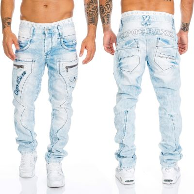 Cipo & Baxx Jeans CD272 blau