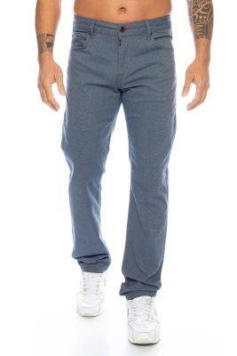 Cipo & Baxx Stoffhose Jeans CD372C blau