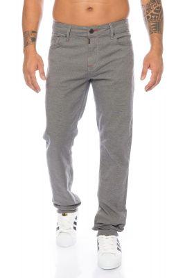 Cipo & Baxx Stoffhose Jeans CD372B grau