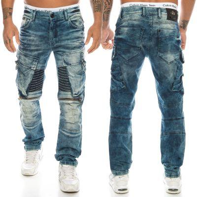 Cipo & Baxx Herren Jeans CD523 Blau
