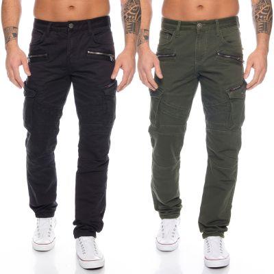 Cipo & Baxx Herren Cargo Jeans CD424
