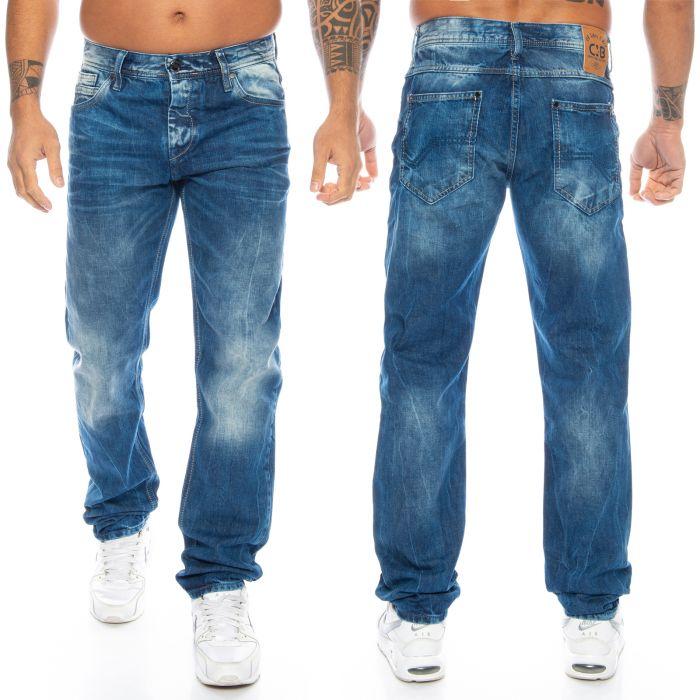 Cipo & Baxx Jeans CD319Y Blau