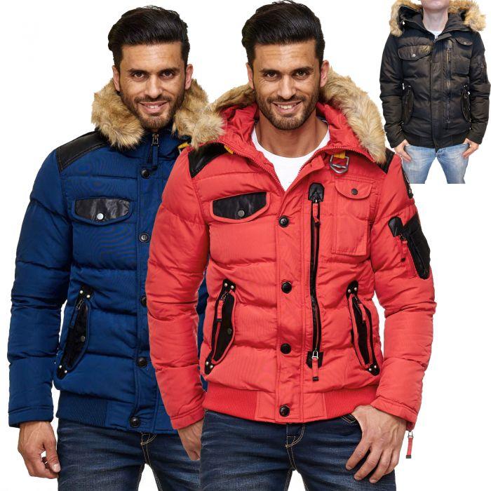 Cipo & Baxx Herren Winter Jacke CM120