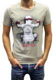 Cipo & Baxx Herren T-Shirt BJ-135311 beige