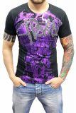 Cipo & Baxx Herren T-Shirt BJ-135016 schwarz