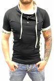 Cipo & Baxx Herren T-Shirt BJ-135312 schwarz