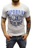 Cipo & Baxx Herren T-Shirt BJ-135244 weiß