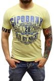 Cipo & Baxx Herren T-Shirt BJ-135244 gelb