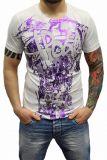 Cipo & Baxx Herren T-Shirt BJ-135016 weiß