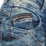 Cipo & Baxx Damen Jeans WD175 blau