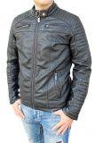Redbridge Biker Kunstleder Jacke M6013 schwarz