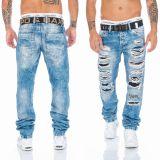 Cipo & Baxx Jeans CD131 blau + Gürtel