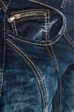 Cipo & Baxx Jeans CD289 blau/grün