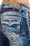 Cipo & Baxx Damen Jeans WD243 blau