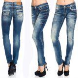 Cipo & Baxx Damen Jeans WD256 blau