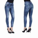 Cipo & Baxx Damen Jeans WD268 blau