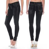 Cipo & Baxx Damen Jeans WD263 schwarz