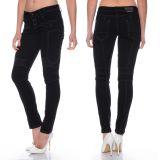 Cipo & Baxx Damen Jeans WD255A schwarz