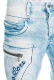 Cipo & Baxx Stoffhose Jeans CD372A anthrazit