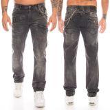 Cipo & Baxx Herren Jeans CD396 Schwarz