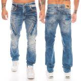 Cipo & Baxx Herren Jeans CD590 Blau