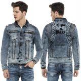 Cipo & Baxx Herren Jeans Jacke 250 Blau