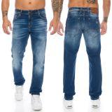 Cipo & Baxx Herren Jeans CD459 Blau