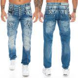Cipo & Baxx Herren Jeans CD466 Blau
