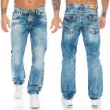 Cipo & Baxx Herren Jeans CD434 Blau