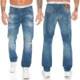 Cipo & Baxx Herren Jeans CD475 Blau