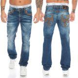 Cipo & Baxx Herren Jeans CD483 Blau