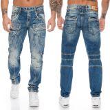 Cipo & Baxx Herren Jeans CD391 Blau