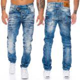 Cipo & Baxx Herren Jeans CD346 Blau